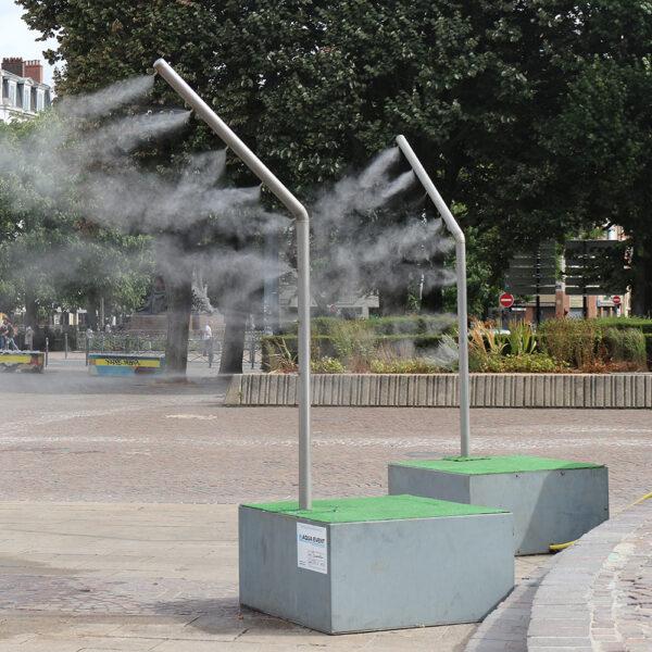 Brumisateur urbain pour espace public